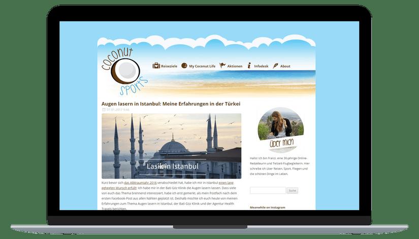 Augenlasern Türkei mit Health Travels & Bati Göz